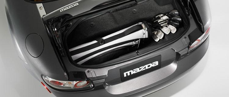 2007 Mazda MX-5 Miata SV, Trunk View, exterior, manufacturer