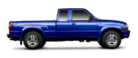 2001 Mazda B-Series Pickup B3000 DS Standard Cab SB, Side View, manufacturer, exterior