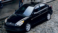 2007 Hyundai Accent 4 Dr GLS, Side View, manufacturer, exterior