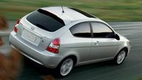 2007 Hyundai Accent 4 Dr GLS, Overview, exterior, manufacturer