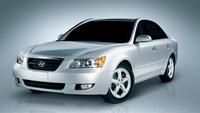 2007 Hyundai Sonata GLS, Front View, exterior, manufacturer