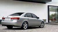 2007 Hyundai Sonata GLS, Side View, exterior, manufacturer