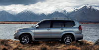 2007 Lexus GX 470 Base, Side View, manufacturer, exterior