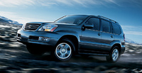 2007 Lexus GX 470 Base, Side View, exterior, manufacturer