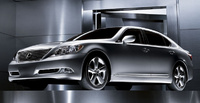 2007 Lexus LS 460 Base, Side View, exterior, manufacturer