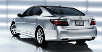 2007 Lexus LS 460 Base, Back Corner View, manufacturer, exterior
