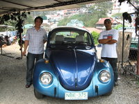 1968 Volkswagen Beetle, Both guys are responsible for the restoration of this VW bug. It took them 4 1/2 months