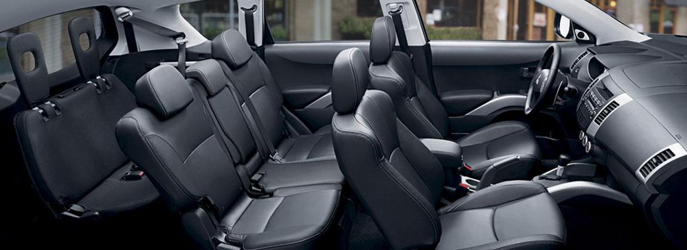 2007 Mitsubishi Outlander Interior
