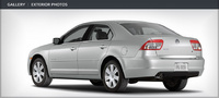 2007 Mercury Milan V6 Premier, Back View, exterior, manufacturer
