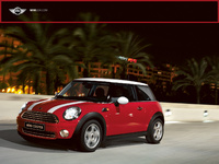 2007 MINI Cooper Base, Front Side View, manufacturer, exterior
