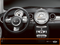 2007 MINI Cooper Base, Instrument Panel, manufacturer, interior