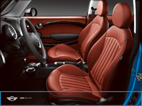 2007 MINI Cooper Base, Seat View, manufacturer, interior