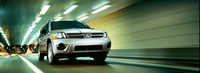 2007 Mitsubishi Endeavor, Front View, exterior, manufacturer