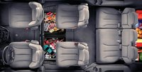 2007 Dodge Caravan, aerial view, interior, manufacturer