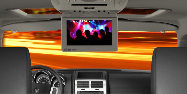 Dodge Nitro Interior. 2007 Dodge Nitro, dvd screen,