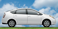 2007 Toyota Prius Base, Side View, manufacturer, exterior