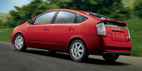 2007 Toyota Prius Base, Driver's Rear Side View, exterior, manufacturer