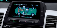 2007 Toyota Prius Base, Multi-Information Display, manufacturer, interior