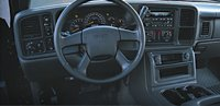 2007 GMC Sierra 1500, steering wheel, interior, manufacturer