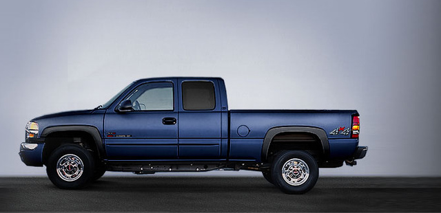 2006 GMC Sierra 2500HD, The 07 GMC Sierra 2500HD, exterior, manufacturer