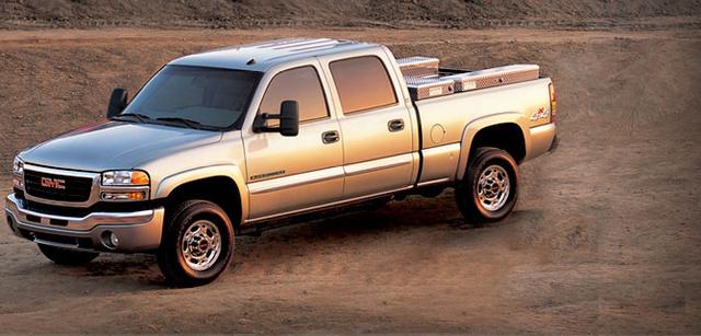 2007 GMC Sierra 2500HD Classic, 07 GMC Sierra 2500HD, exterior, manufacturer