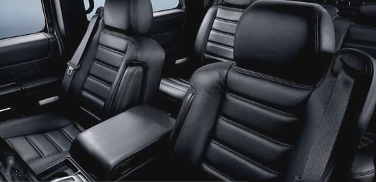 2007 Hummer H2, seating, interior, manufacturer