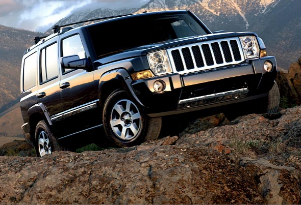 The 2007 Jeep Commander, exterior, manufacturer