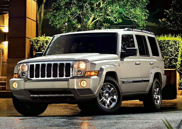 2008 Jeep Commander, The 07 Jeep Commander, exterior, manufacturer