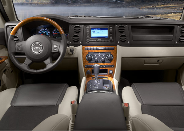 2007 Jeep Commander Sport Interior Pictures To Pin On Pinterest Pinsdaddy