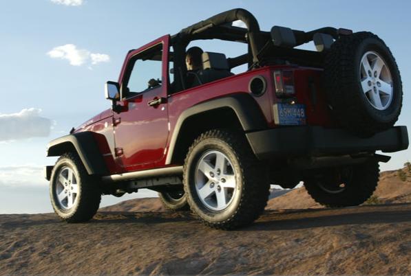 The 07 Jeep Wrangler
