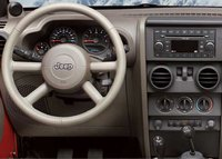 2007 Jeep Wrangler, dashboard, interior, manufacturer