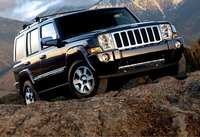 The 2007 Jeep Commander, manufacturer, exterior