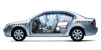 2007 Kia Optima, airbags, manufacturer, exterior