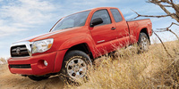2007 Toyota Tacoma Base, Front View, exterior, manufacturer