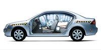 2007 Kia Optima, airbags, exterior, manufacturer