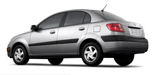 The 2007 Kia Rio, exterior, manufacturer, gallery_worthy