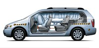 2007 Kia Sedona, airbags, exterior, interior, manufacturer