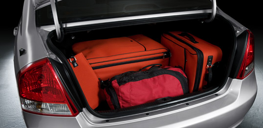 Dimensions Of Toyota Corolla Trunk