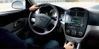 2007 Kia Spectra, steering wheel, interior, manufacturer