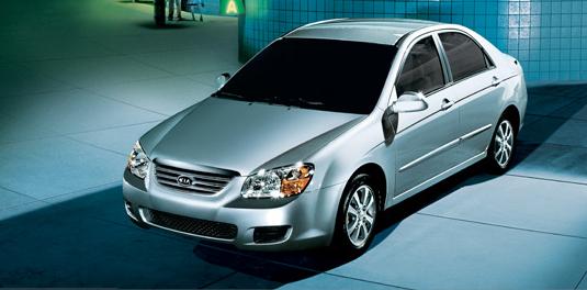 2007 Kia Spectra, 07 Kia Spectra, exterior, manufacturer