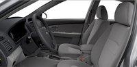 2007 Kia Spectra, front seat, interior, manufacturer