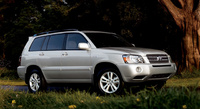 2007 Toyota Highlander Hybrid, Front-quarter view of the Limited, exterior, manufacturer