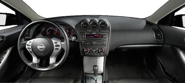 2007 Nissan Altima, Dashboard , interior, manufacturer