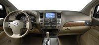 2007 Nissan Armada, dashboard, interior, manufacturer
