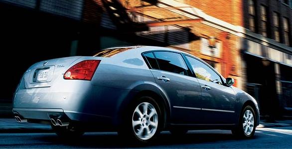 2007 Nissan Maxima, 07 Nissan Maxima, exterior, manufacturer