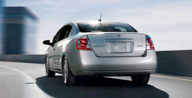 The 07 Nissan Sentra