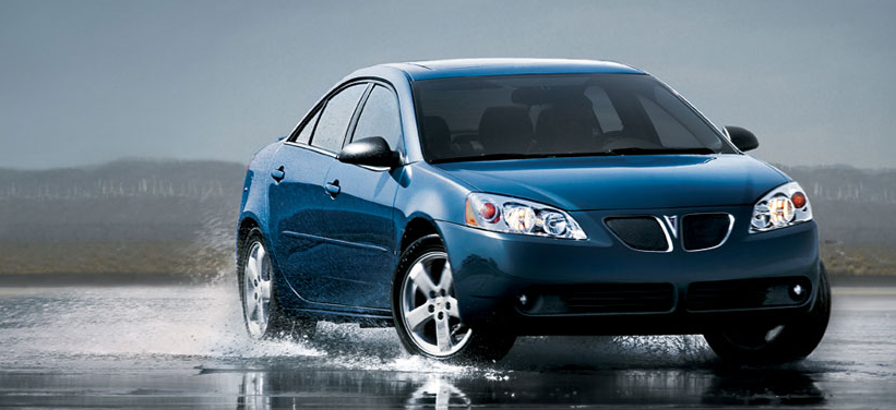 The 2007 Pontiac G6, exterior, manufacturer