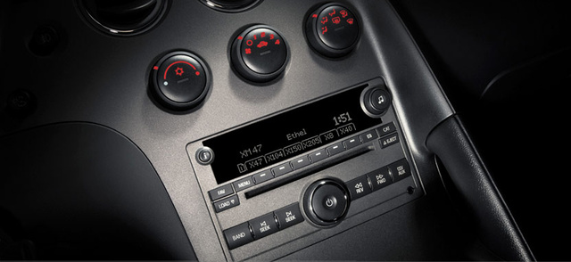 2007 Pontiac Solstice, cd player, interior, manufacturer