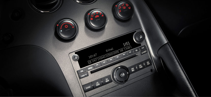 2007 Pontiac Solstice, cd player, manufacturer, interior