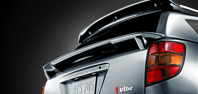 2007 Pontiac Vibe, spoiler kit, exterior, manufacturer, gallery_worthy